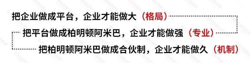 《分算奖+合伙制—柏明顿阿米巴管理模式》方案班(7月30日-8月2日上海站)培训课程